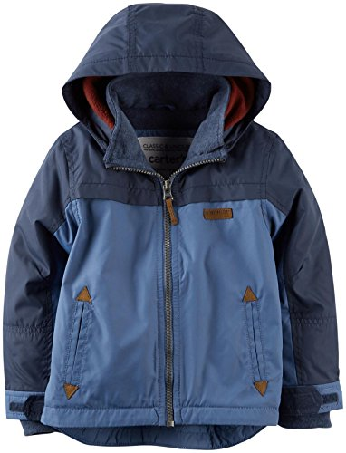 Carter's Little Boys' Fleece Lined Jacket (Toddler/Kid) - Blue - 3T