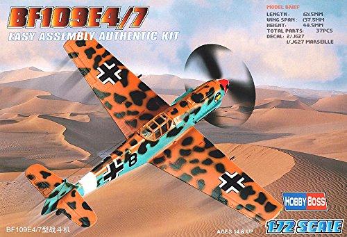 Hobby Boss Bf 109E-4/7 Airplane Model Building Kit - 1