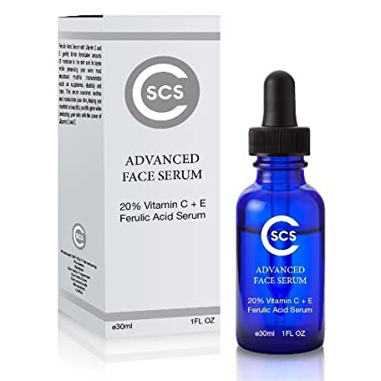 20% Ferulic Acid with Vitamin C + E Serum best Serum for Face, Wrinkles, Lines and Puffiness