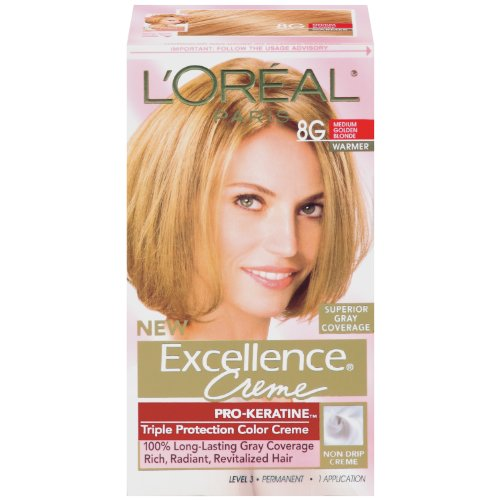 ... Protection Permanent Hair Color Creme Medium Golden Blonde-Warmer