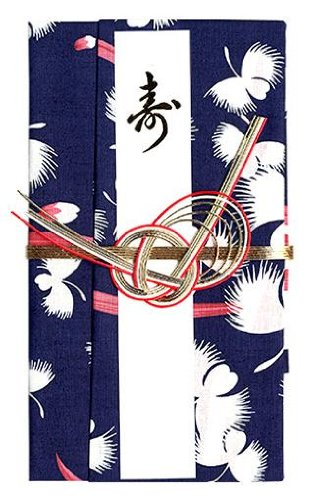 Gift-money-envelope-for-a-wedding Fukuro Snowy Heron Grass Which Grew in the Handkerchief