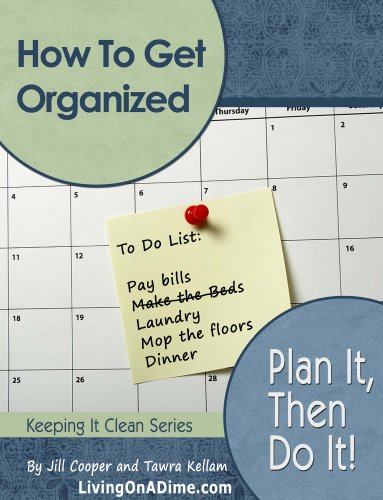 How To Get Organized: Plan It Then Do It (Organization Books compare prices)