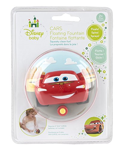 Disney Cars Floating Fountain - Makes Bath Time Engaging - Waterproof - 1