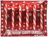 Archie McPhee Bacon Candy Canes, 2.5 Ounce, 6 Pack