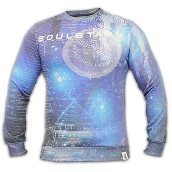 Men's Soul Star Sweatshirt BINARY Blue Medium