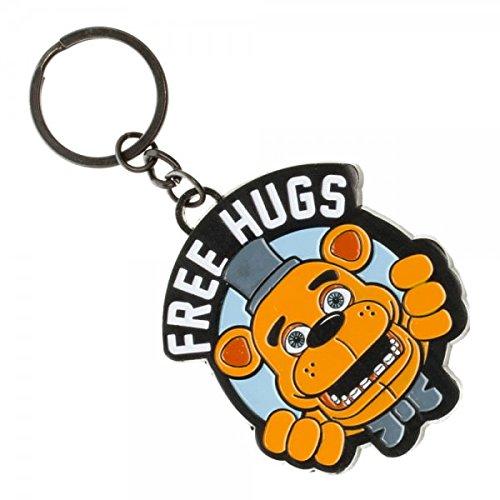 Portachiavi, motivo: notti a cinque Freddy's-Free Hugs-ke3qkrfnf nuovo con Licenza Ufficiale