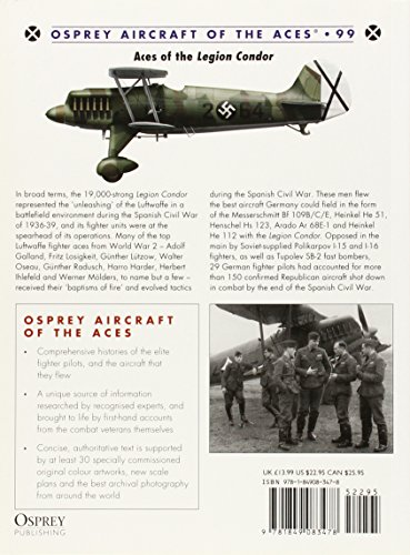 Aces of the Legion Condor (Aircraft of the Aces)