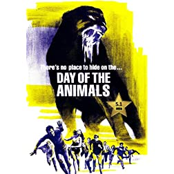 Day Of The Animals [VHS Retro Style DVD] 1977