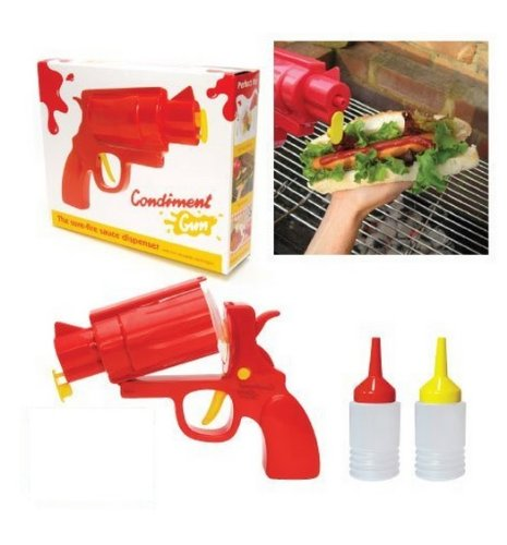 Fun Gun Shaped Party Condiment Dispenser