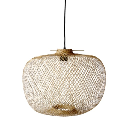 Großes hängendes Lamp Bamboo