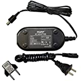 HQRP Replacement AC Adapter / Charger for JVC GR-SXM37U, GRSXM37U, GZ-MG435HUS, GZMG435HUS Camcorder with USA Cord & Euro Plug Adapter