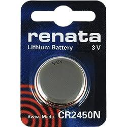 Renata CR2450N 3V Lithium Battery (1pc Blister Pack)