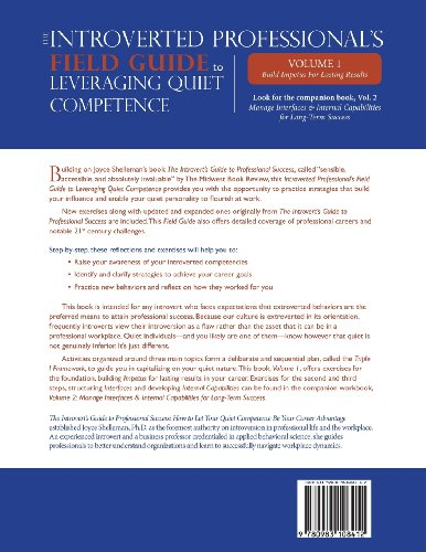 The Introverted Professional's Field Guide to Leveraging Quiet Competence Volume 1: Build Impetus for Lasting Results