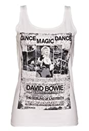Ladies Dance Magic Dance Labyrinth Poster Vest,White M