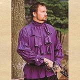 Renaissance Noble's Shirt - PURPLE - Small (Period Clothing)