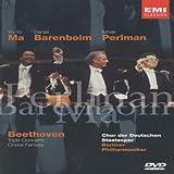 echange, troc Ludwig Van Beethoven : Choral Fantasy and Triple Concerto for Violin, Cello & Piano (1995)