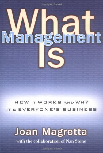 What Management Is front-61954