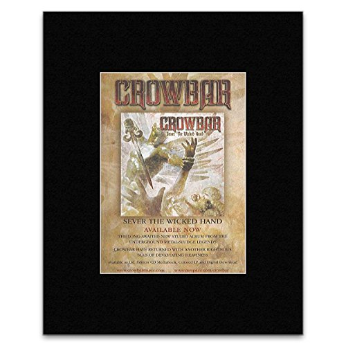 CROWBAR - Sever The Wicked Hand Matted Mini Poster - 13.5x10cm