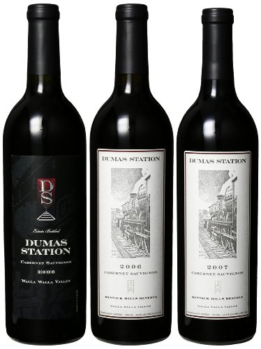 Dumas Station Walla Walla Cabs Mixed Pack, 3 X 750 Ml