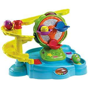 Fisher-Price Topzy Tumblers Twirlin' Tumblin' Fun Park