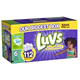 Luvs With Ultra Leakguards Size 6 Diapers 112 Count