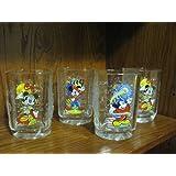 Four McDonald's Disney 2000 Celebration Glasses