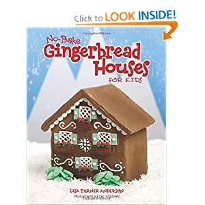 No Bake Gingerbread Houses for Kids