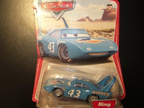 Disney Pixar Cars King 1:55 Scale Mattel Diecast Original Desert Background Card - 1