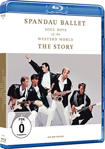 Spandau Ballet - Soul Boys of the Western World - The Story [Deutsche Fassung] [Blu-ray]