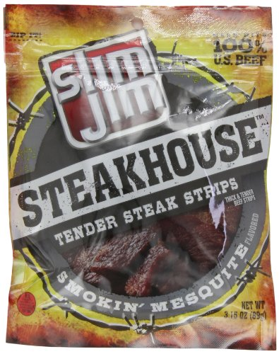 Slim Jim Steakhouse, Smokin' Mesquite, 3.15-Ounce
