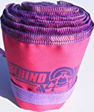 Wrist Strength Wraps for Weightlifting - Excellent for Crossfit and Olympic Weightlifting - Pink and Purple