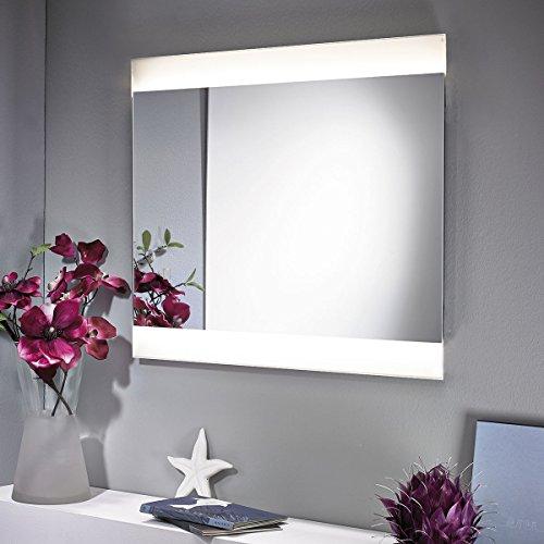 ZEARO-Spiegel-mit-LED-Beleuchtung-56x70cm-beleuchtet-Badspiegel-Schminkspiegel-Wandspiegel