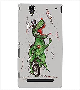 PrintDhaba Funny Image D-5387 Back Case Cover for SONY XPERIA T2 ULTRA (Multi-Coloured)