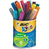 BIC Kids VisaColor Evolutions Pot de 18 Feutres de Coloriage XL