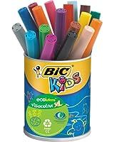 BIC Kids VisaColor Evolutions Pot de 18 Feutres de Coloriage XL