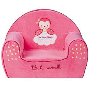 babycalin fauteuil club lili la coccinelle b b s pu riculture. Black Bedroom Furniture Sets. Home Design Ideas