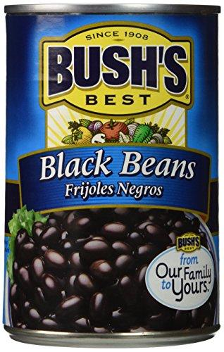 Bush's Best BLACK BEANS 15oz (2 Pack) (Black Beans Can compare prices)