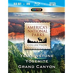 America's National Park Collection - Yellowstone, Yosemite, Grand Canyon [Blu-ray]
