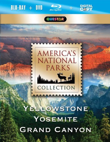 Cover art for  America&#039;s National Park Collection - Yellowstone, Yosemite, Grand Canyon [Blu-ray]