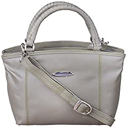 Leather Ways Women's Handbags (Olive Green)