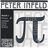 Peter Infeld ペーター インフェルド ヴァイオリン弦 E線 4/4 クロムスチール/金メッキ PI01AU