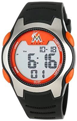 "Game Time Men's MLB-TRC-MIA ""Training Camp"" Watch - Miami Marlins"