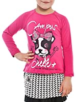 MEK Camiseta Manga Larga Jersey Stretch (Fucsia)