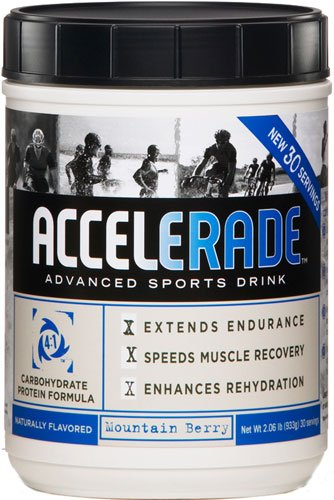 Pacific Health  Accelerade, Mountain Berry, Net Wt. 2.06 lb., 30 serving Image