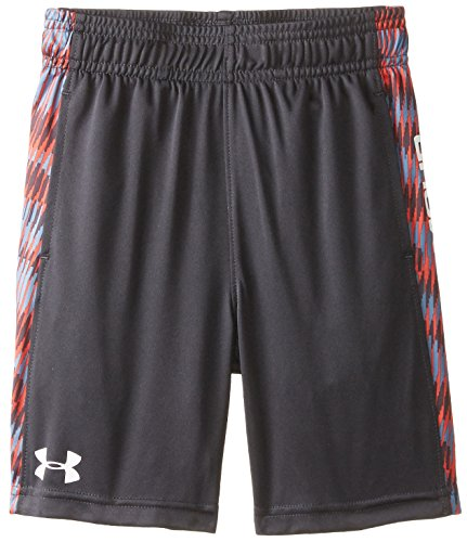 Under Armour Little Boys' Eliminator Short 3, Anthracite, 5