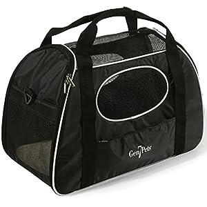 Gen7Pets Carry-Me Sport Pet Carrier, Large, Black/Bright White