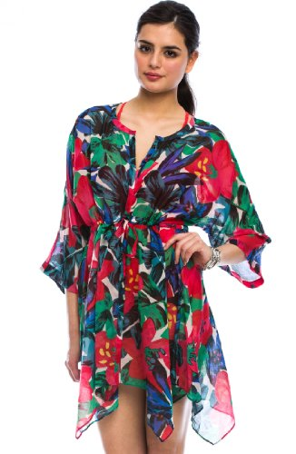 Armani Exchange Printed Cover-up