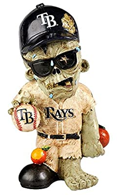 MLB Tampa Bay Rays Resin Zombie Figurine, Blue