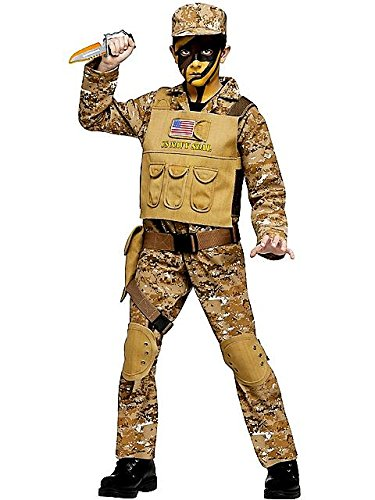 Fun World Navy Seal Boys Costume Large (12-14) front-955198