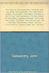 summary of justice by galsworthy Summary since it appeared in 1971, john rawls's a theory of justice has become a classic the author has now revised the original edition to clear up a number of difficulties he and others have found in the original book.